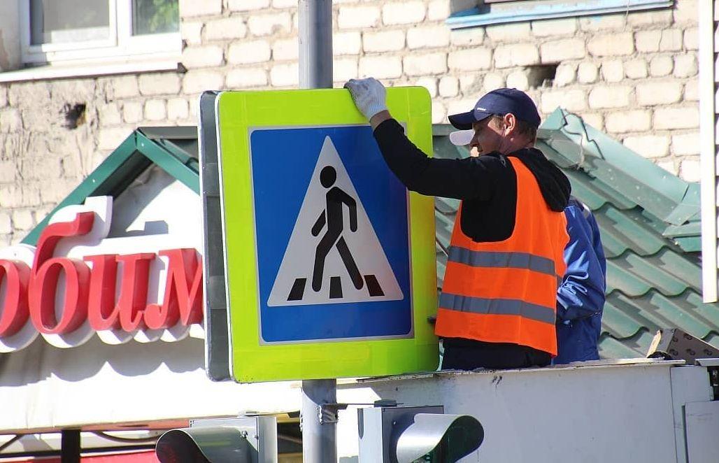 Оживленный перекресток в Свободном оборудовали светофором