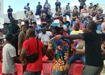 На «Кубке Дружбы» иностранные курсанты устроили импровизированное музыкальное шоу