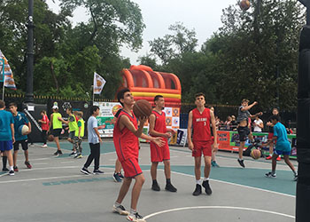 «Оранжевый мяч» собрал более 250 баскетболистов на набережной в Благовещенске