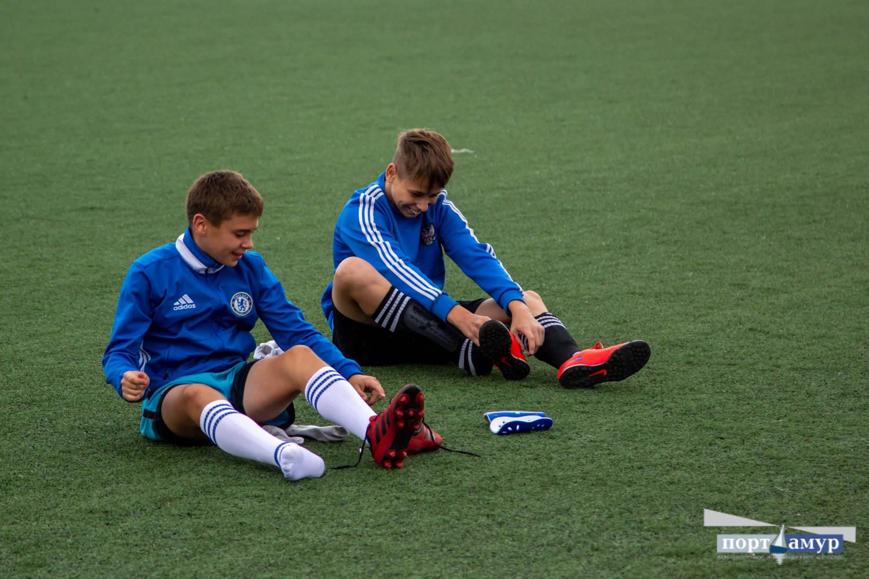 Дворовые футбольные команды борются в Благовещенске за поездку в Санкт-Петербург