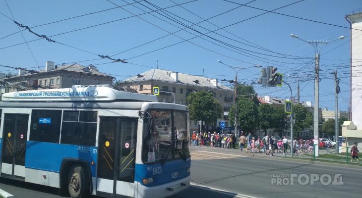 В Чувашии закупят три троллейбуса за 47 миллионов рублей
