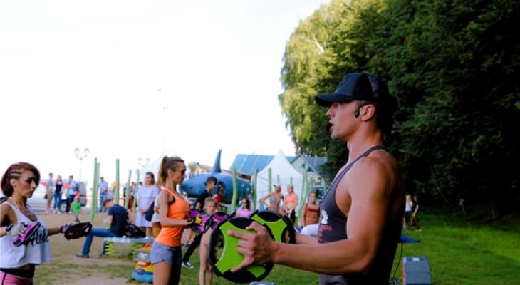 В воскресенье на Московской набережной пройдет день фитнеса