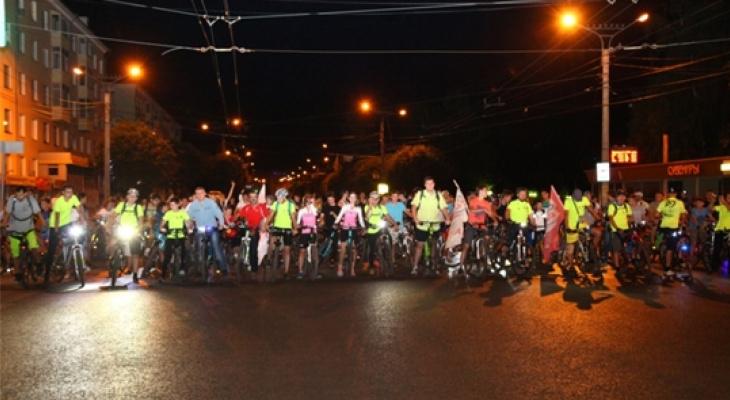 В Чебоксарах ограничат движение во время ночного велопробега