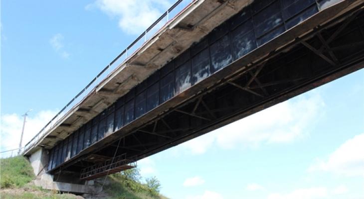 В Чувашии по мосту через Суру перекроют проезд