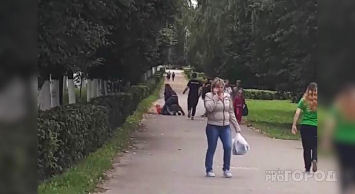 В Чебоксарах пассажир такси и водитель устроили драку