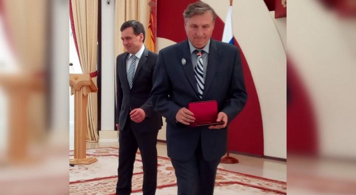 Путин наградил биолога из Чувашии, который трудился более 50 лет
