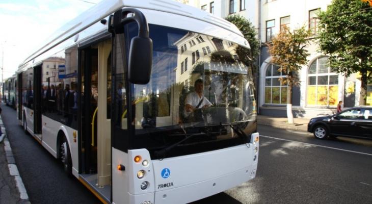 Для Чебоксар закупят еще три безрогих троллейбуса