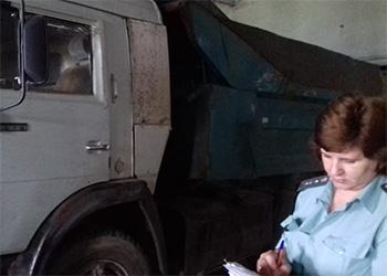 У амурского агрария арестовали «КамАЗ» и погрузчик за долги