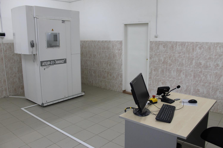 В благовещенскую колонию привезли новый аппарат флюорографии