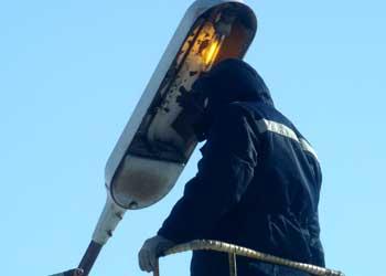 Жители Зеи озаботились судьбой уличных светильников