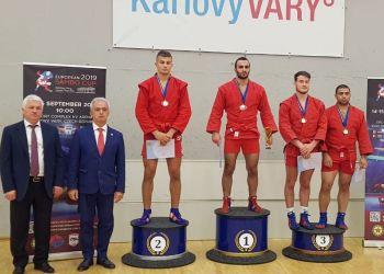 Благовещенец стал золотым призером Кубка Европы по самбо