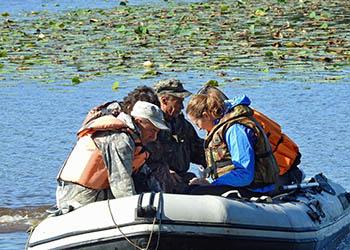 В Хинганском заповеднике создают карты дна озер
