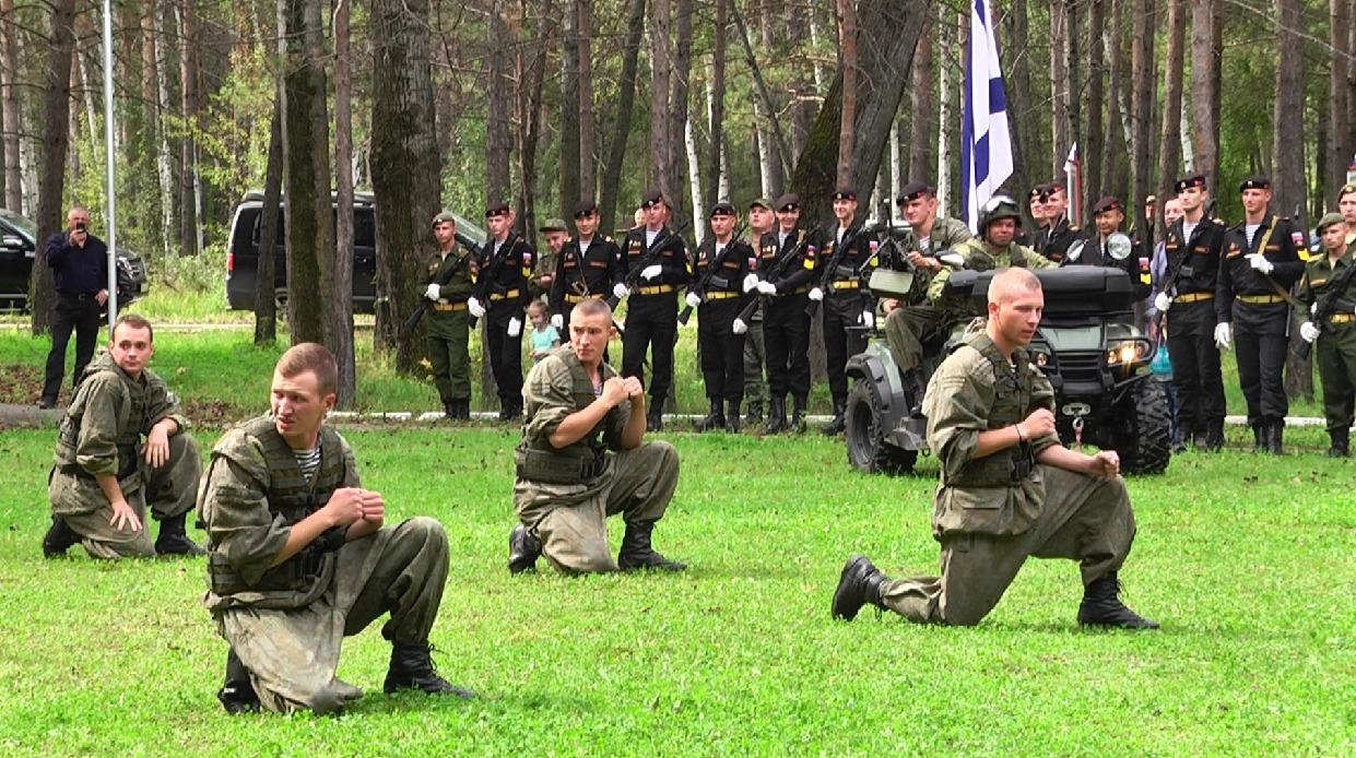 День танкиста отметили в Моховой Пади