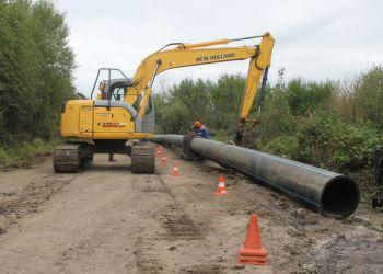 Коммунальщики меняют водопроводную сеть на улице Нагорной в Благовещенске