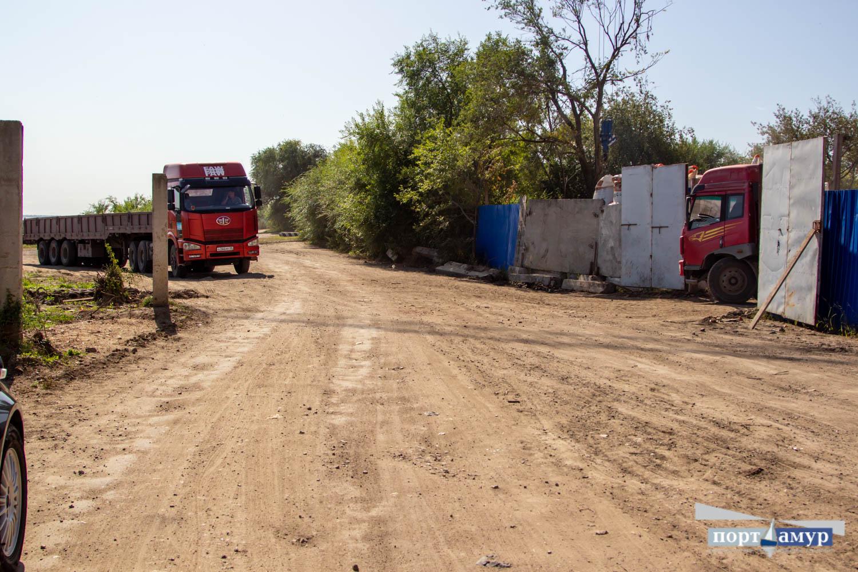 В Благовещенске началась реконструкция берега Зеи