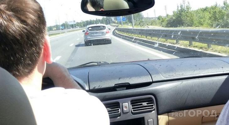 ГИБДД Чувашии сообщает о трудностях на трассе М7 из-за ремонта