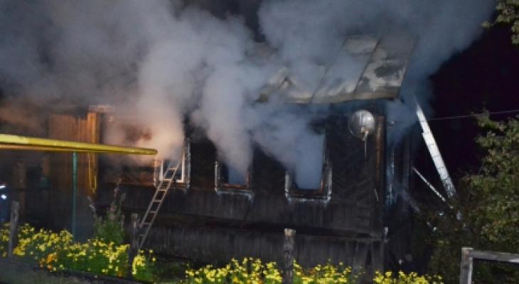Одинокая женщина погибла в загоревшемся доме в Шемуршинском районе