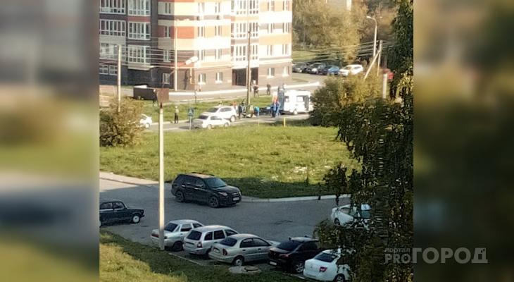 В Чебоксарах сбитый мужчина пролежал без сознания на пешеходном переходе полчаса