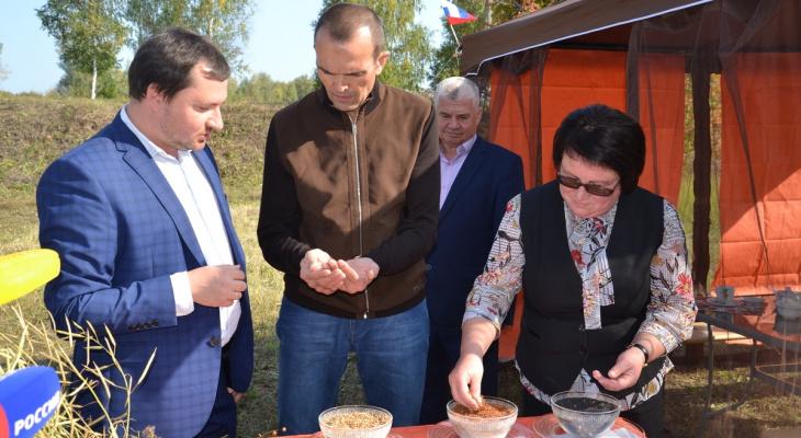 Игнатьев съездил в поля Алатырского района: «В этом году урожай хороший»