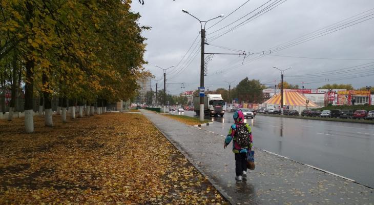 В понедельник в Чувашии будет холодно и дождливо