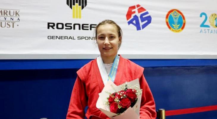 Девушка из Чувашии болевым приемом победила представительницу Франции на Кубке Европы