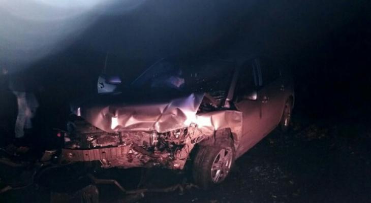 В Чувашии в результате столкновения трех машин пострадали семь человек
