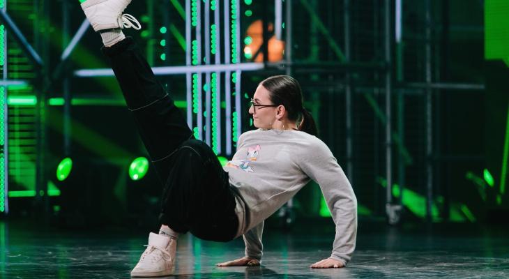 Юная чебоксарка станцует хип-хоп на кастингах шоу «Танцы» на ТНТ