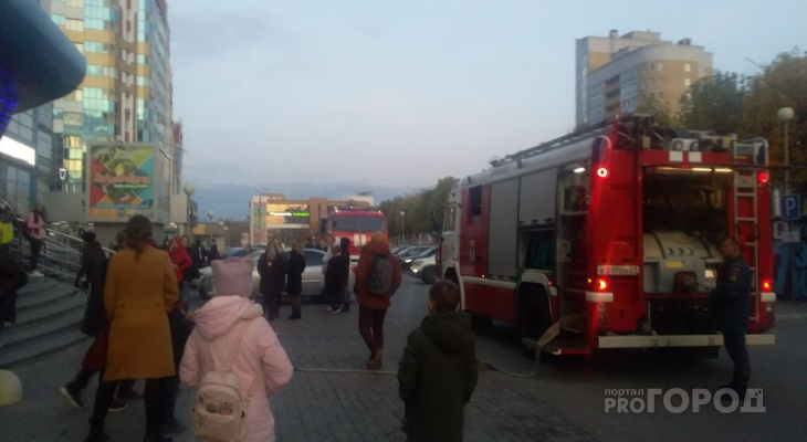 В Чебоксарах эвакуировали людей из