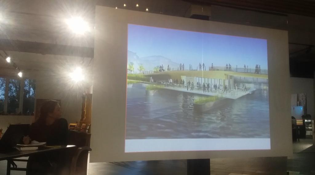Новый мост через Залив хотят сделать музыкальным и с разноцветными фонтанами