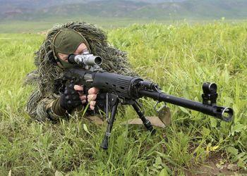 Амурские разведчики прошли дополнительную подготовку по снайпингу