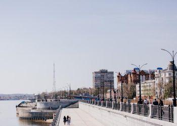 Берегоукрепление набережной Амура смогут завершить в течение двух лет