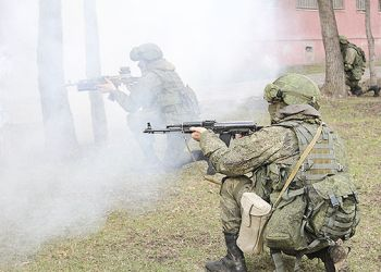 В Приамурье военные обезвредили «террористов»