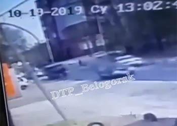 Ребенка сбили на пешеходном переходе в Белогорске