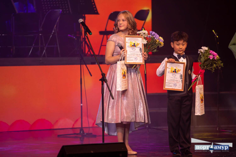 Фортепиано и гранты на 100 тысяч получили победители «Детства на Амуре»