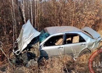 «Много крови»: возле стелы в Благовещенске опрокинулось авто