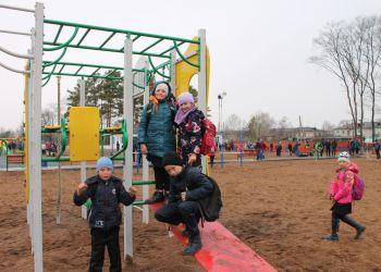 Спортивную площадку открыли Архаринском районе
