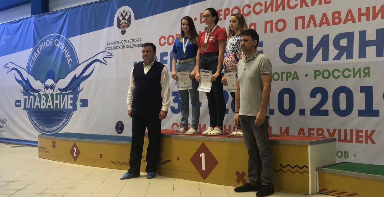 Юная амурчанка взяла серебро на соревнованиях по плаванию