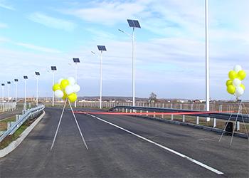 В Благовещенске открыли первый участок дороги в Чигири