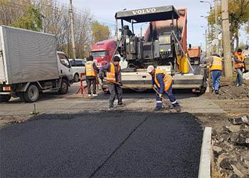 Дорожники заканчивают ремонты на магистральных улицах Благовещенска