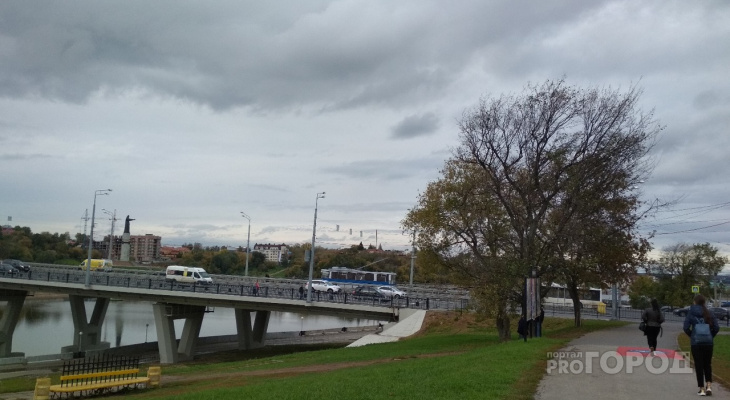 Среда в Чувашии будет с порывистым ветром и дождем