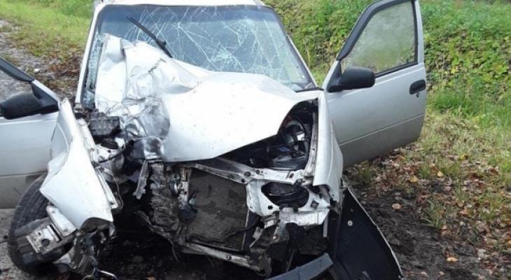 В Ядринском районе 19-летняя девушка и еще два человека пострадали в утреннем ДТП