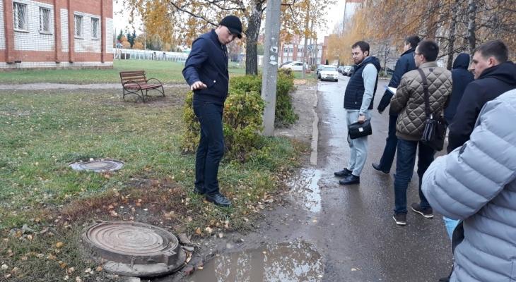 Чиновники обошли чебоксарские улицы и указали на проблемные места