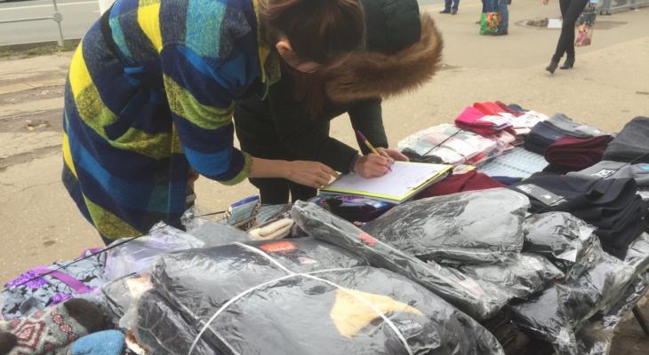Всю неделю в Чебоксарах выявляли нелегальных торговцев