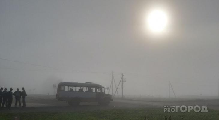 Туманное утро и небольшое похолодание прогнозируют синоптики Чувашии