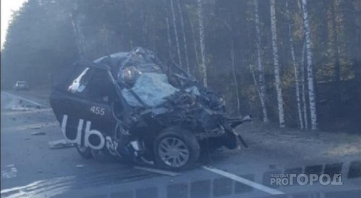 Водитель Uber и две пассажирки из Чувашии погибли в массовой аварии на марийской трассе
