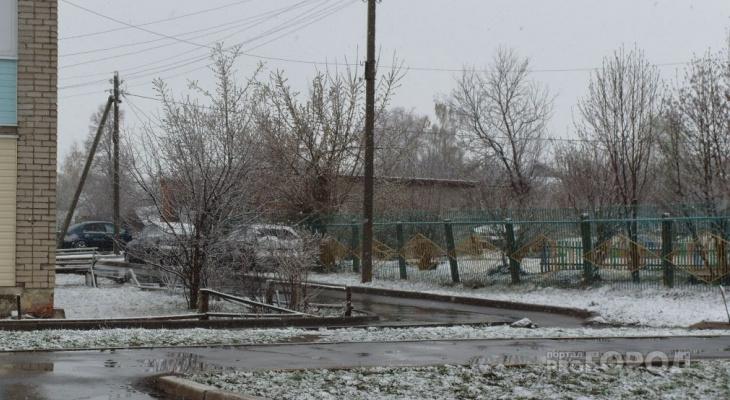 В Чувашию идут первые серьезные морозы и снегопады
