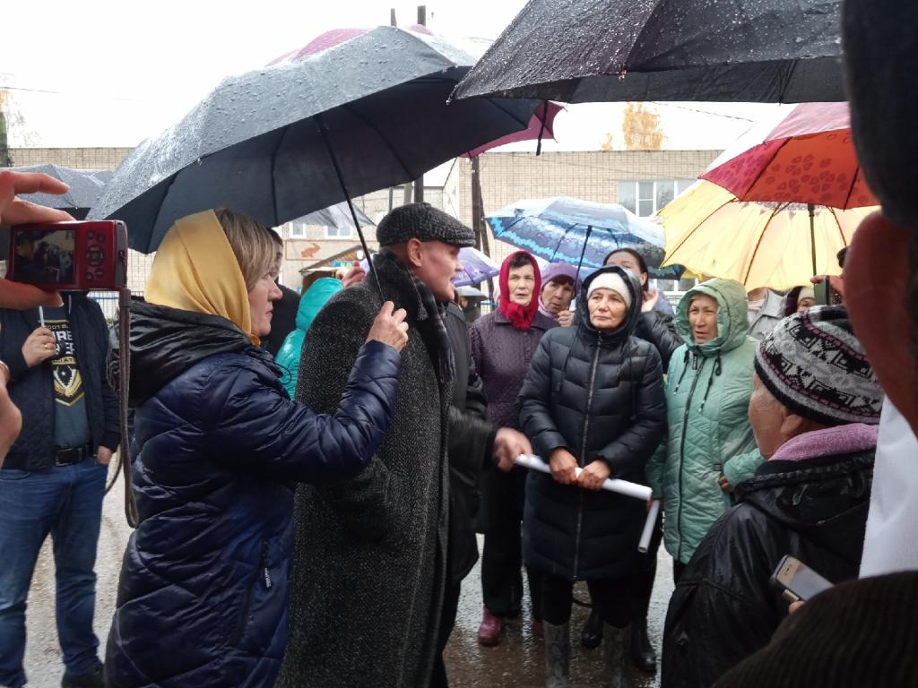 На митинг против китайцев в Кугесях пришло 200 человек