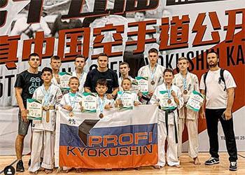 Амурские каратисты привезли из Китая десять медалей