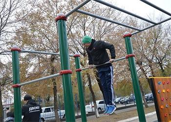 Современная спортивная площадка открылась в Благовещенске