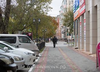 Более 27 километров новых тротуаров появится в Благовещенске